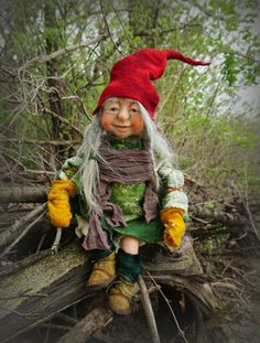 Felted Gnome https://www.facebook.com/FairyfeltBySiso