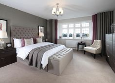 Visit Caddington Woods, Chaul End, a stunning new Redrow development in Caddington. We have beautiful 4 & 5 bedroom homes available. Find your dream home today! Wood Bedroom, Bedroom Decor, Bedroom Ideas, Master Bedroom, Bedroom Designs, Bedroom Furniture, Redrow Homes, House Window Design, Richmond Homes