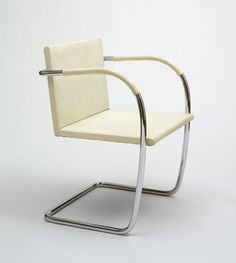 Brno armchair, designed by Ludwig Mies van der Rohe, 1929–30  Courtesy ©The Museum of Modern Art/Licensed by SCA LA/Art Resource, New York