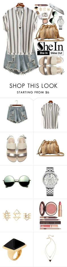 """""""Shein"""" by oshint ❤ liked on Polyvore featuring Diane Von Furstenberg, Revo, Tommy Hilfiger, Charlotte Russe, Kenneth Jay Lane, House of Harlow 1960, awesome, beautiful, fabulous and Sheinside"""