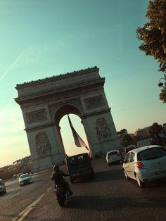 "Shooting in Paris for ""American Ride"""