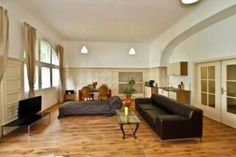 This elegant apartment in Berlin's Kreuzberg area is so well spaced, a stay for up to 8 people is no stretch