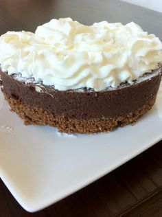 Best Ideas For Cupcakes Chocolate Receta Sweets No Bake Desserts, Delicious Desserts, Yummy Food, Pie Cake, No Bake Cake, Baking Recipes, Cake Recipes, Baking Bad, Sweet Bakery