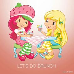 Strawberry Shortcake - Let's do brunch