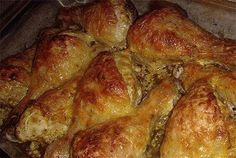 Самые вкусные рецепты: Куриные голени со сметаной и сыром