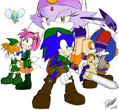 Sonic - Legend of Zelda