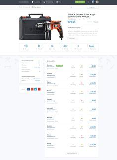Awesome e-commerce design