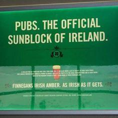 Irish sunblock, for us fair, freckled folks.