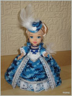 doll 12 - model of the Baroque period