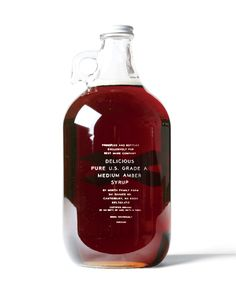i was gifted a whole gallon of Canada's Best Made maple syrup                                     thank you!