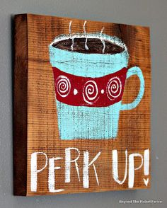 12 Days of Christmas Coffee Signs http://bec4-beyondthepicketfence.blogspot.com/2014/11/12-days-of-christmas-day-4-coffee-lover.html Funky Junk Interiors, Coffee Quotes, Coffee Signs, Coffee Art, Coffee Theme, My Coffee, Coffee Break, Christmas Coffee, 12 Days Of Christmas