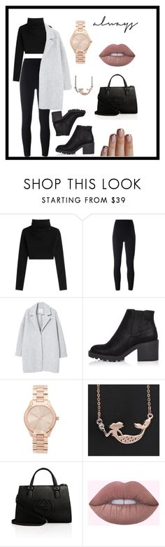 """• ● ♡ ♧ ♡ ● •"" by chimchiim ❤ liked on Polyvore featuring Valentino, adidas Originals, MANGO, River Island, Michael Kors and Gucci"