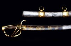 Napoleonic Swords and Sabers Collection: Officer Horse Chasseur's Sword from…