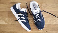 online store c396a 1f90d Adidas Gazelle Navy Blue - Mis 2 zapatillas deportivas favoritas y por qué