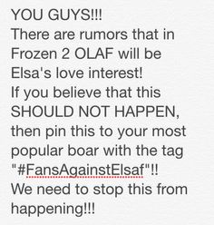 #FansAgainstElsaf Stop Elsaf from happening!!!