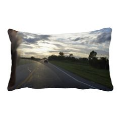 Sunset Ride Throw Pillows