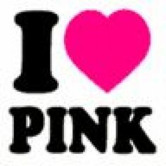 I ♡ Pink...the color and the musician