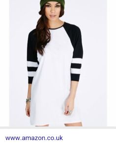 Kikita greek key print oversized t-shirt dress in white parties.