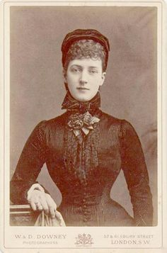 "AC Princess Alexandra Caroline ""Alix"" (Alexandra Caroline Marie Charlotte Louise Julia) (1844-1925) Denmark. Wife of Albert Edward (King Edward VII) (1841-1910) Prince of Wales, UK. 2nd Child of King Christian IX (1818-1906) Denmark & Princess Louise (1817-1898) Hesse-Kassel, Germany."