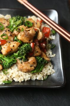 Gluten-Free Is Me: Healthy Sesame Chicken with Broccoli - Feed Me Phoebe