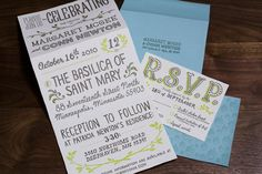 love the handwritten typography and basic colors and little botanical flourishes