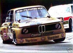 Jörg Obermoser - BMW 2002 - Team Warsteiner GS Tuning - 200 Meilen von Nürnberg - 1975 Deutsche Rennsport Meisterschaft, round 5