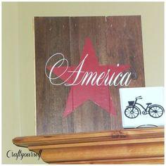 America Star Slat Board - Craft