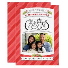 Have Yourself A Merry Little Christmas Photo Cards