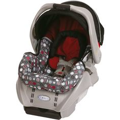 Finally decided on a carseat! Only $59 @ Walmart! Graco SnugRide Infant Car Seat, Dotastic