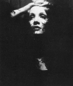 Marlene Dietrich - such a cool photo.