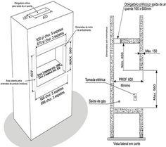 churrasqueira alvenaria dimensões - Pesquisa Google