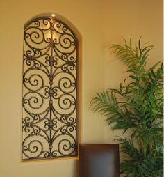 Wall Decor | metal wall art | Wrought Iron wall decor | Home ...