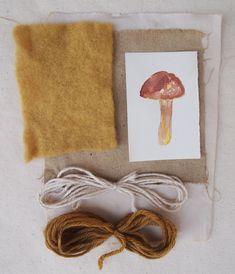 Natural Dyes - Wild Mushrooms – Folk Fibers