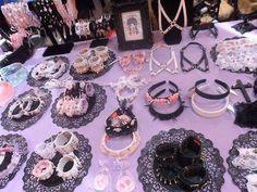 Rose Blood-Reaper: Pastel goth accessories