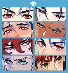 Anime Faces Expressions, Drawing Expressions, Eye Drawing Tutorials, Art Tutorials, Anime Drawings Sketches, Anime Sketch, Manga Eyes, Boy Anime Eyes, Digital Art Tutorial