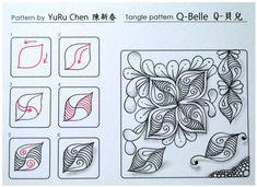 b85383c3bf6b06e09e0333714f4fb32b--doodle-patterns-tangle-patterns.jpg (736×536)