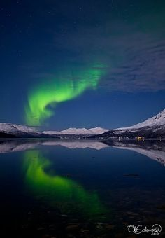 #Video of the Northern Lights in Norway, love it!