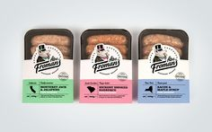Abe Froman's Stateside Recipe Sausages   Creative Agency, Branding & Packaging Design   Leeds