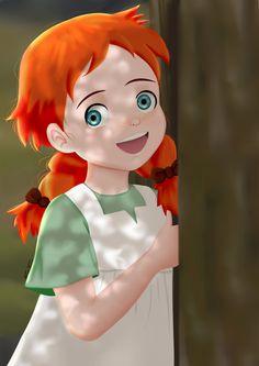 Hello Anne: Before Green Gables by SamaShaar on DeviantArt Flower Background Wallpaper, Flower Backgrounds, Pretty Wallpapers, Cute Cartoon Wallpapers, Digital Art Anime, Anne With An E, Cartoon Girl Drawing, Girl Cartoon, Old Anime