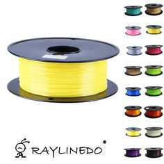 63.59$  Watch now - http://alimnl.worldwells.pw/go.php?t=32676940637 - Yellow Color 1Kilo/2.2Lb Quality ABS 1.75mm 3D Printer Filament Transparent 3D Printing Pen Materials
