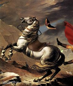 David. Napoleon falls.