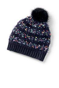 Furry Stripe Hat