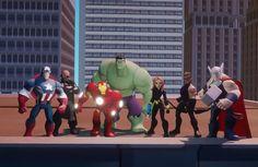 """""""Disney Infinity: Marvel Super Heroes"""" é anunciado com bonecos dos Vingadores"""