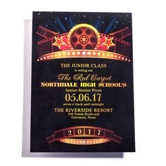 popular items for hollywood invitation on etsy quinceniera ideas
