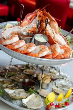 Seafood tower... And it's guilt free!
