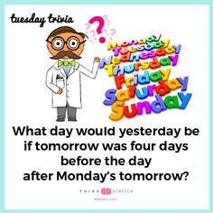 Time for some #Tuesday #Trivia #tuesdaytrivia