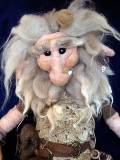 Land Spirit Forest Troll Large 18 Needle by HiddenFolkFibers