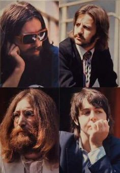 George, Ringo John e Paul