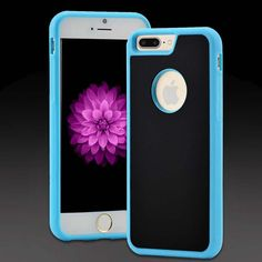"iPhone 7 Plus Ant...  It actually sticks on smooth surfaces!  Hurry!Upto 35% off + FREE STD SHIPPING ""OCTOBERFEST17""   http://studiop12.com/products/iphone-7-plus-anti-gravity-phone-case-blue?utm_campaign=social_autopilot&utm_source=pin&utm_medium=pin"