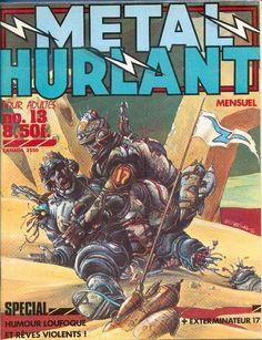 Metal Hurlant N'13 byEnki Bilal